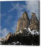 Peaks In The North Cascades Canvas Print
