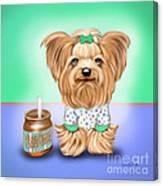 Peanut Butter Lover Canvas Print