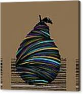 Pear 2003 Tan Canvas Print