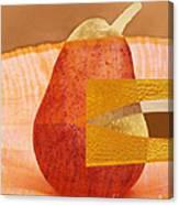 Pear 44 Canvas Print