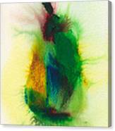 Pear Abstract 3 Canvas Print