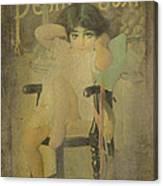 Pear Soap Girl Canvas Print