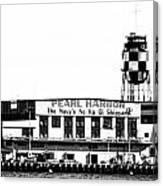 Pearl Harbor Shipyard Canvas Print