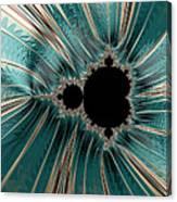 Pearly Mandelbrot Canvas Print