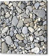 Pebble Background Canvas Print