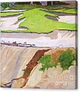Pebble Beach Sand Canvas Print