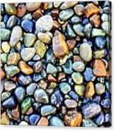 Pebbles Galore Canvas Print