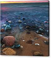 Pebbly Beach Canvas Print