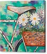 Pedal Petal Canvas Print