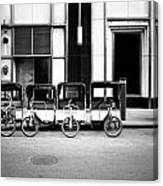 Pedicab Nyc Canvas Print