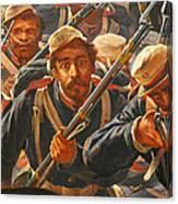 Pedro Americo Self Protriat Canvas Print