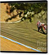 Pedrosa Though The Trees Canvas Print