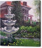 Peel Mansion Canvas Print