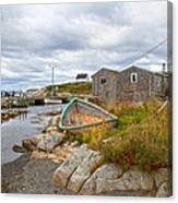 Peggy's Cove 12 Canvas Print
