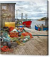 Peggy's Cove 17 Canvas Print