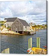 Peggy's Cove 6 Canvas Print