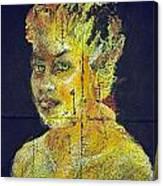 Pele Woman Canvas Print