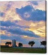 Lakeway Pelican Cloud Canvas Print