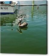 Pelican John 3/16 Boat Canvas Print