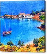 Pelion Tzasteni Canvas Print
