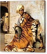 Pelt Merchant  Canvas Print