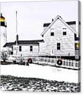 Pemaquid Lighthouse Canvas Print