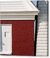 Pemaquid Point Bell House Canvas Print