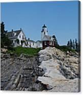 Pemaquid Point Light House Canvas Print