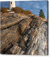 Pemaquid Point Light II Canvas Print