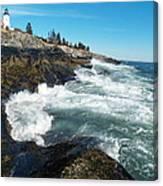 Pemaquid Point Lighthouse 1 Canvas Print