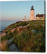 Pemaquid Point Maine Lighthouse Canvas Print