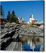Pemaquid Point Reflections Canvas Print