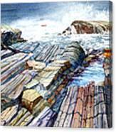Pemaquid Rocks Canvas Print