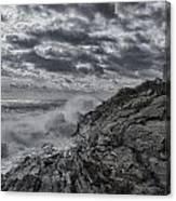 Pemaquid Seas Canvas Print