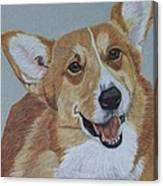 Pembroke Welsh Corgi Canvas Print