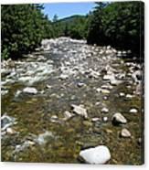 Pemigewasset River Nh Canvas Print