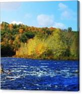 Pemigewassett River Canvas Print