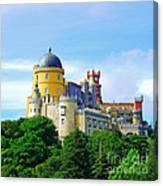 Pena Palace In Sintra Canvas Print