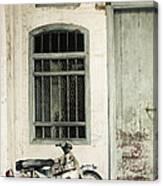 Penang Street Scene Malaysia Canvas Print