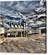 Penarth Pier 6 Canvas Print