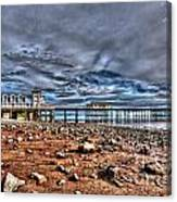 Penarth Pier 7 Canvas Print