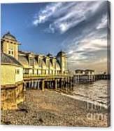 Penarth Pier Dawn 2 Canvas Print