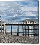 Penarth Pier Panorama 1 Canvas Print