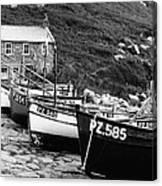Penberth Cove Canvas Print