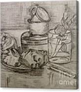 Pencil Still-life. Canvas Print