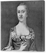 Penelope Barker (1728-1796) Canvas Print
