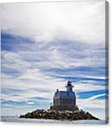 Penfield Reef Lighthouse Fairfield Connecticut Canvas Print