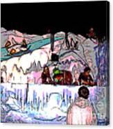 Penguin's Folly Canvas Print