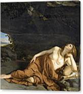 Penitent Mary Magdalene Canvas Print