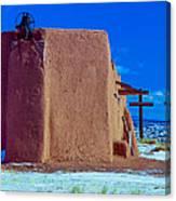 Penitente Morada Christian Church At Abiquiu New Mexico Canvas Print